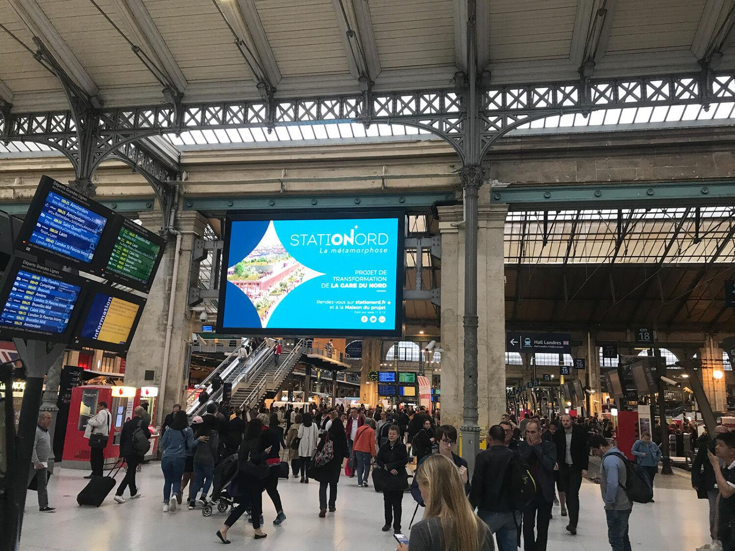 Gare du Nord 2024 devient STATIONORD !
