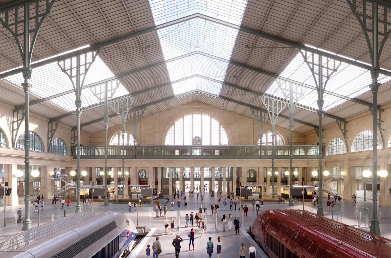 Le projet de transformation de la Gare du Nord poursuit son avancée